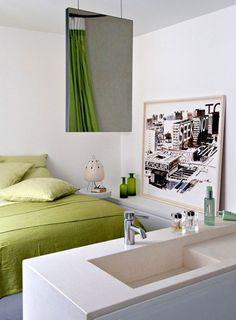 Spacious loft in Paris   PUFIK. Beautiful Interiors. Online Magazine