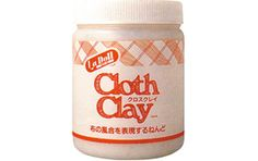 Cloth Clay This is one of the most insteresting products we've come across in a while. Whether you work in fabric or in polymer or in paper clays - this material is sure to inspire further creations! Cloth Clay air dries - no baking necessary!