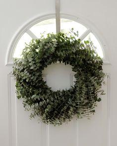 "Eucalyptus Wreath - 20"" by keira262 on Etsy https://www.etsy.com/listing/249965825/eucalyptus-wreath-20"