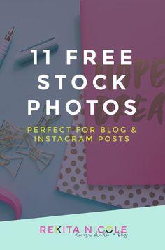 11 Free Stock Photos Perfect for Blog and Instagram Posts · Rekita Nicole