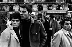 William Klein :: Le Petit Magot, Armistice Day, Paris, 1968