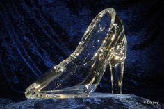 Stuben Glass Slipper in the Cinderella Castle Suite