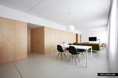 Apartment Refurbishment in Pamplona // IÑIGO BEGUIRISTAIN   Afflante.com