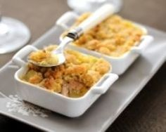 Crumble de foie gras aux pommes (facile, rapide) - Une recette CuisineAZ