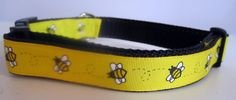 Bumblebee Dog Collar by caninedesign on Etsy, $8.00