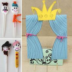 spoon puppet theater