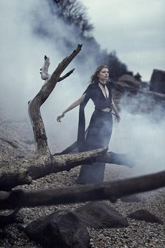 madeleineofthespirits:  The Seventh Seal: Jeff Elstone for StyleZietgeist Magazine  via  DirtyFlaws.com