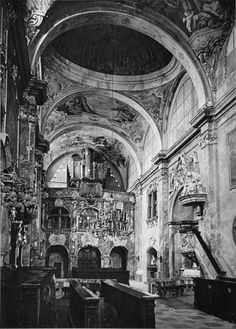 St. Emmeram's Cathedral,byKarel Plicka