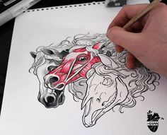 70 Simple and Catchy Horse Tattoo Designs Ideas
