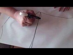"""Como hacer trazo de pijama dos piezas """" Peticion"""" - YouTube"""
