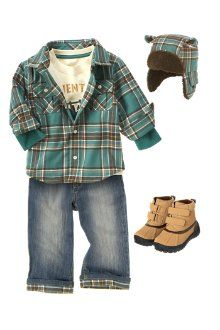 because babies and toddles need flannel too :)