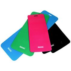 Aeromat Phthalate-Free Workout Mat, 20 inch x 48 inch x 0.5 inch, PVC, Multiple Colors, Black