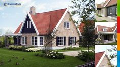 Landelijke villa  Echt een huis-huis met rood dak, stenen muur en luiken. Super sfeervol.