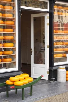 Cheese Store.  Delft, Netherlands