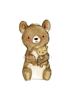 KinderTEDDY BEAR LOVEArchivierung Kunstdruck