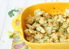 Cauliflower & potatoes