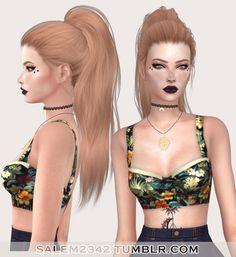 Salem2342: Stealthic Paradox Hair Retexture • Sims 4 Downloads