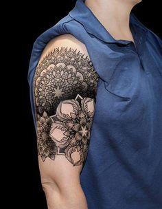patterns tattoo - 40 Intricate Geometric Tattoo Ideas