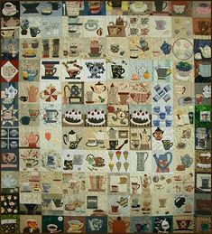 Wow!  Look at this!  Tokyo International Quilt Festival 2008 by PatchworkPottery, via Flickr