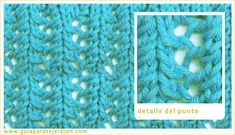 Knitting Stitch Patterns, or combinations of knitting stitches, are a wonderful way to expand your knitting skills. See Knitting Terms an. Knitting Terms, Baby Knitting Patterns, Knitting Stitches, Stitch Patterns, Crochet Baby, Knit Crochet, Diy And Crafts, Weaving, Santa Clara