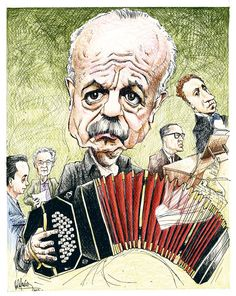 Tango Art, Folk, Leonard Bernstein, Argentine Tango, Conductors, Caricature, Grand Prix, Painting & Drawing, Supernatural