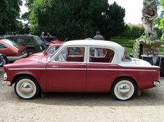1960 hillman minx -travel in 1978 NZ but ours was powder blue....(working holiday)