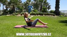 30ti denní výzva - 5 ověřených cviků pro břicho snů Body Fitness, Health Fitness, 30 Day Challenge, Beach Mat, Challenges, Outdoor, Outdoors, Challenge 30 Days, Outdoor Games