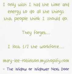 Follow The Widow or Widower Next Door's blog on widsnextdoor.com and Pins at…