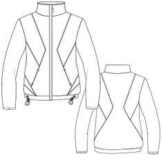 Elige los patrones de moda que emplean las marcas más prestigiosas Campera 3088 DAMA Camperas