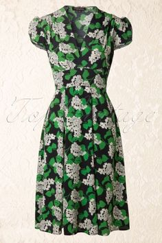Trashy Diva - Ashley Dress in Vintage Myrtle print 1940s Dresses, Dressy Dresses, Pageant Dresses, Lace Dresses, Club Dresses, Vintage Outfits, Vintage Inspired Dresses, Vintage Dresses, 1940s Fashion
