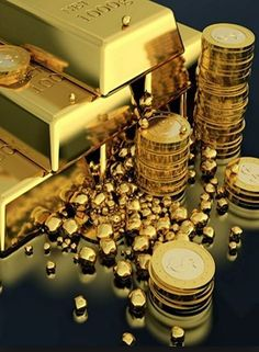 Feng Shui Colors and Modern Design Feng Shui, Gold Bullion Bars, Gold Reserve, I Love Gold, Money Stacks, Gold Aesthetic, Gold Money, Gold Coins, How To Make Money