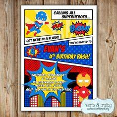 Birthday calling all superheros party invitation wording superhero superhero party invitation super hero birthday invitation superheroes birthday party invite avengers birthday stopboris Gallery
