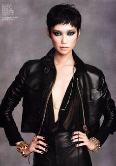 Ming Xi, Du Juan, Hyoni Kang & Tao Okamoto Vogue China March 2011
