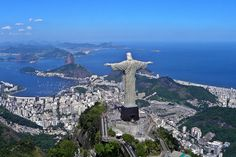Estátua do Cristo Redentor, um ícone internacional | #CristoRedentor, #Jmj, #LugaresDoBrasil, #LugaresDoMundo, #RioDeJaneiro