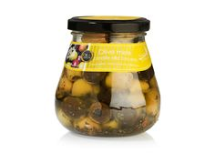 Italian olive mix of green and black pitted olives, marinated in a typical Tuscan herb oil of parsley, oregano, garlic and a pinch of chili. Delicious as antipasti, appetizer or in a salad. Black Pit, Italian Olives, Garlic Olive Oil, Pitted Olives, Parsley, Vinegar, Cucumber, Chili, Spain