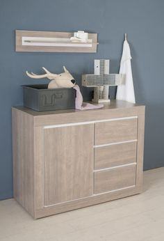 Commode voor de babykamer Colorado, Cabinet, Storage, Furniture, Home Decor, Products, Dressers, Clothes Stand, Purse Storage