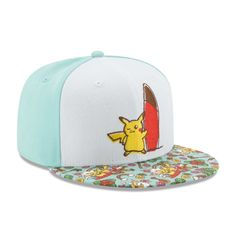 9301a1b7d21 Official Alola Friends Baseball Cap by New Era brings Pikachu out to surf
