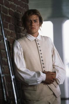 THE PATRIOT, Heath Ledger, 2000   Essential Film Stars, Heath Ledger http://gay-themed-films.com/essential-film-stars-heath-ledger/