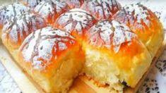 Brioche light au Yaourt comme un nuage… sans Pétrissage sans Beurre, tout simplement un régal !! - Tasties Foods Yummy Food, Tasty, Orange Crush, Beignets, Spanakopita, Cheesesteak, Coco, Camembert Cheese, Biscuits