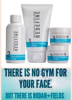 There is no gym for your face!
