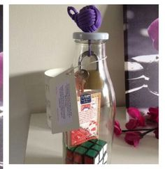 Deck of Cards in a Bottle (It's a Puzzle! Magic Store, Deck Of Cards, Spray Bottle, Puzzles, Cleaning Supplies, Crafting, Puzzle, Cleaning Agent, Airstone