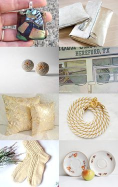 Golden Gift by carole on Etsy--Pinned with TreasuryPin.com