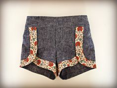Oliver + S Class Picnic Shorts pattern sewn by ashmhiggs
