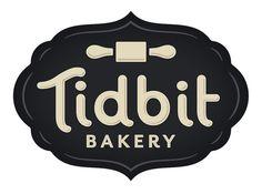 Tidbit Bakery Logo by super_furry, via Flickr