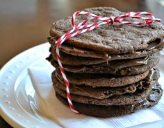 Salted Chocolate Nutella Cookies | OAMC from Once A Month Meals