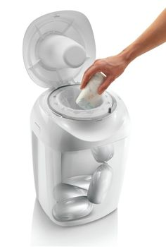 Tommee Tippee - Sangenic Hygiene Plus MK4 - Luieremmer - Wit