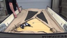 POP-TOP TENT INSTALLATION FOR THE VANAGON (85-91) screw in style tent
