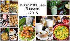 Most Popular Recipes of 2015 : Kendra's Treats