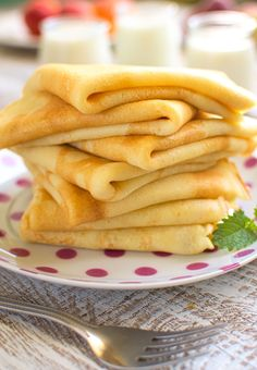 Pancakes with buttermilk