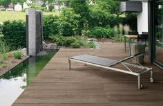 Ceppo by Provenza - Cerro Porch Tile, Patio Tiles, Wood Patio, Pisa, Timber Tiles, Wood Tiles, Outdoor Spaces, Outdoor Living, Wood Look Tile